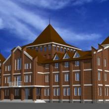 Административное здание по ул.Правая набережная (вар)