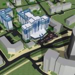 Проект жилого комплекса по ул.Гагарина в Калининграде