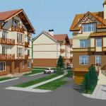 Жилой квартал в г.Зеленоградске