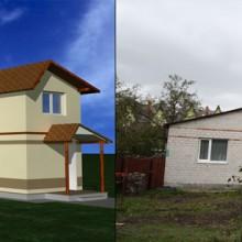Реконструкция части дома по ул.Полецкого в Калининграде