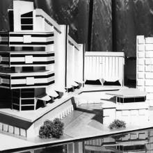 Макет торгово-промыленно-развлекательного комплекса по Советскому проспекту