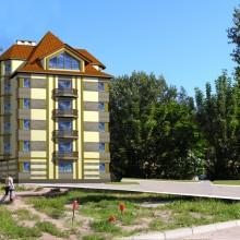Проект жилого дома по ул.Пролетарской