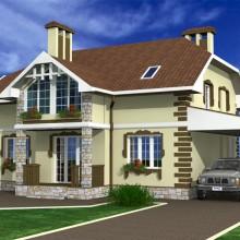 Жилой дом в п.Дружный Калининградской области