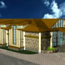 Проект торгового центра в п.Малиновка