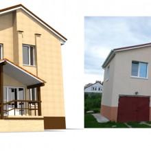 Реконструкция входной зоны частного дома