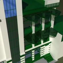 Вариант фасада административного здания
