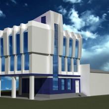 Реконструкция административного здания на набережной Г.Трибуца