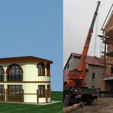 Реконструкция, расширение и дизайн фасадов жилого дома по ул.Ахматовой
