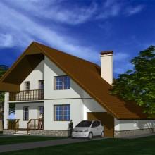 Индивидуальный жилой дом в п.Ушаково