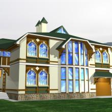 Одноквартирный жилой дом в п.Малиновка