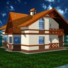 Жилой дом в п.Заостровье