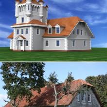 Реконструкция частного дома в п.Прислово Калининградской области