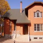 Дом из керамического кирпича