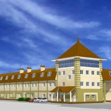 Реконструкция и дизайн фасадов производственного здания в п.Васильково
