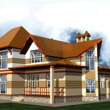 Жилой дом в п.Холмы