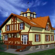 Двухквартирный жилой дом