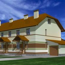 Жилой дом на 3 семьи в п.Владимирово