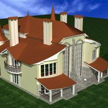 Двухквартирный жилой дом в п.Орловка