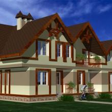 Дом на 2 семьи по ул.Ключевая в Калининграде