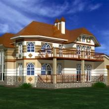 Индивидуальный жилой дом в п.Холмы