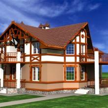 Индивидуальный жилой дом по ул.Зеленая в п.Колосовка