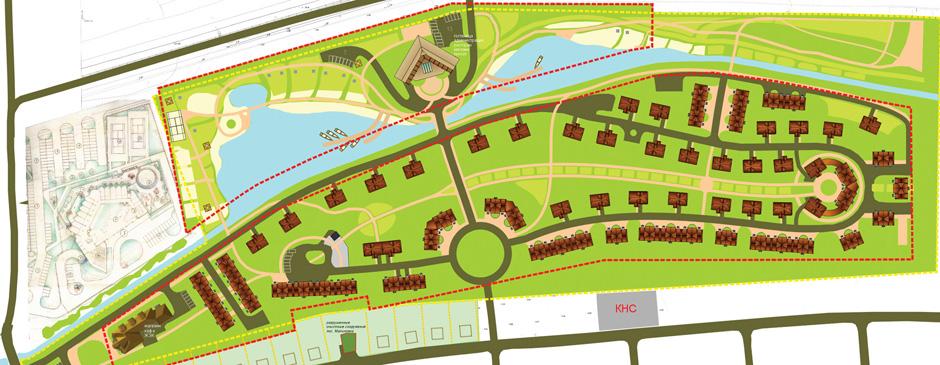 Проектирование районов и поселков